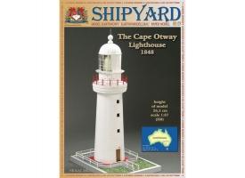 Сборная картонная модель Shipyard маяк Cape Otway Lighthouse (№57), 1/87