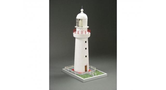 Сборная картонная модель Shipyard маяк Cape Otway Lighthouse (№57), 1/87 2