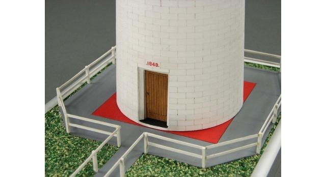 Сборная картонная модель Shipyard маяк Cape Otway Lighthouse (№57), 1/87 4