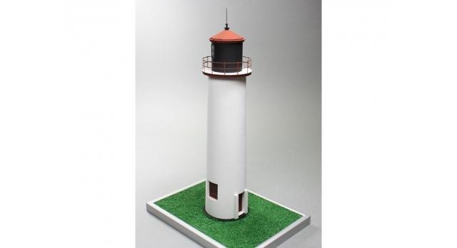 Сборная картонная модель Shipyard маяк Minnesota Point Lighthouse (№58), 1/87 2