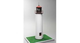 Сборная картонная модель Shipyard маяк Minnesota Point Lighthouse (№58), 1/87 3