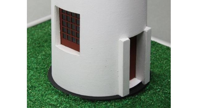 Сборная картонная модель Shipyard маяк Minnesota Point Lighthouse (№58), 1/87 5