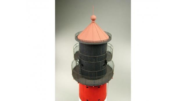 Сборная картонная модель Shipyard маяк Westerheversand Lighthouse (№59), 1/87 3