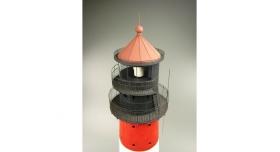 Сборная картонная модель Shipyard маяк Westerheversand Lighthouse (№59), 1/87 4