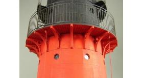 Сборная картонная модель Shipyard маяк Westerheversand Lighthouse (№59), 1/87 5