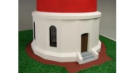 Сборная картонная модель Shipyard маяк Westerheversand Lighthouse (№59), 1/87 6