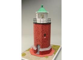 Сборная картонная модель Shipyard маяк Rotes Kliff Lighthouse (№60), 1/87 1
