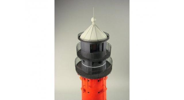 Сборная картонная модель Shipyard маяк Pellworm Lighthouse (№61), 1/87 3