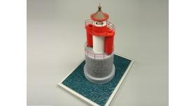 Сборная картонная модель Shipyard маяк Vierendehlgrund Lighthouse (№62), 1/87 2