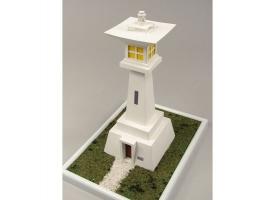 Сборная картонная модель Shipyard маяк Udo Saki Lighthouse (№63), 1/87 1
