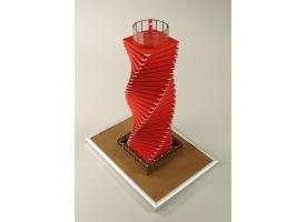 Сборная картонная модель Shipyard маяк Wando Hang Lighthouse (№68), 1/87 1