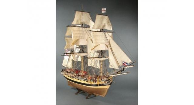Набор сборных картонных моделей Shipyard Паруса 18 века-Северная Европа (ч 2) (№50, №51, №66), 1/96 2