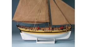 Набор сборных картонных моделей Shipyard Паруса 18 века-Северная Европа (ч 2) (№50, №51, №66), 1/96 3