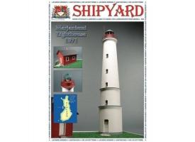 Сборная картонная модель Shipyard маяк Lighthouse Marjaniemi (№11), 1/72
