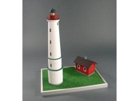 Сборная картонная модель Shipyard маяк Lighthouse Marjaniemi (№11), 1/72 1