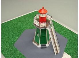 Сборная картонная модель Shipyard маяк Lighthouse Bunthauser Spitze (№24), 1/72 1