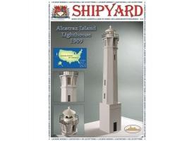 Сборная картонная модель Shipyard маяк Lighthouse Alcatraz (№28), 1/72
