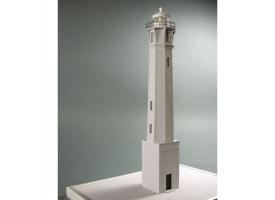 Сборная картонная модель Shipyard маяк Lighthouse Alcatraz (№28), 1/72 1