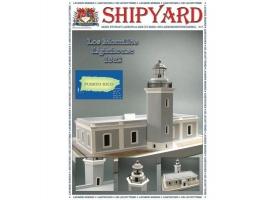 Сборная картонная модель Shipyard маяк Lighthouse Los Morrillos (№30), 1/72