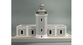 Сборная картонная модель Shipyard маяк Lighthouse Los Morrillos (№30), 1/72 3