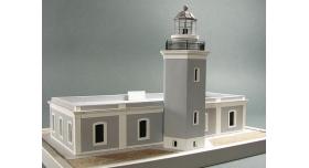 Сборная картонная модель Shipyard маяк Lighthouse Los Morrillos (№30), 1/72 4