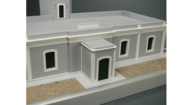 Сборная картонная модель Shipyard маяк Lighthouse Los Morrillos (№30), 1/72 5