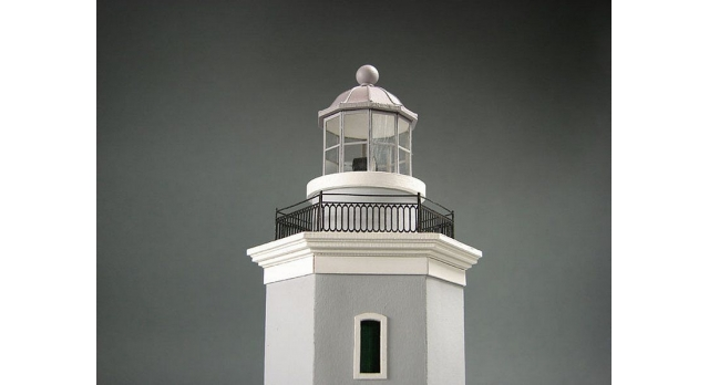 Сборная картонная модель Shipyard маяк Lighthouse Los Morrillos (№30), 1/72 6
