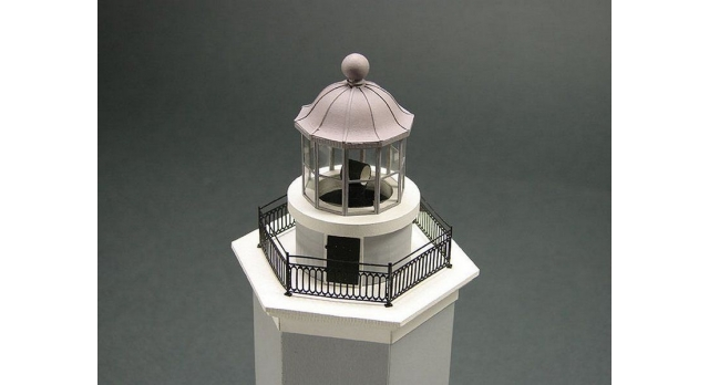 Сборная картонная модель Shipyard маяк Lighthouse Los Morrillos (№30), 1/72 7