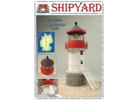 Сборная картонная модель Shipyard маяк Lighthouse Gellen (№39), 1/72