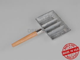 4440 Форма для свинца LEE 4-Cavity Ingot Mold with Handle