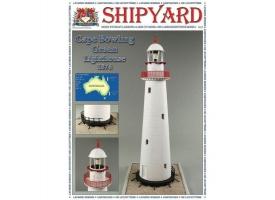 Сборная картонная модель Shipyard маяк Cape Bowling Green Lighthouse (№61), 1/72