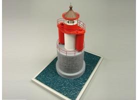 Сборная картонная модель Shipyard маяк Vierendehlgrund Lighthouse (№91), 1/72 1
