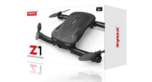 Р/У квадрокоптер Syma Z1 Wi-Fi селфи-дрон, барометр, 2.4G 10