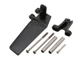 Набор запасных частей для катера Feilun FT012 (хвостовой руль, кронштейн, крепеж, тяга)