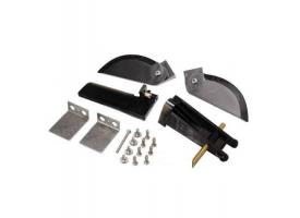 Набор запасных частей для катера Feilun FT011 (хвостовой руль, кронштейн, транцевые плиты, стабилизаторы, крепеж)