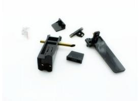 Набор запасных частей для катера Feilun FT010 (хвостовой руль, кронштейн, транцевые плиты, крепеж)