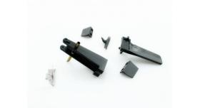 Набор запасных частей для катера Feilun FT010 (хвостовой руль, кронштейн, транцевые плиты, крепеж) 2