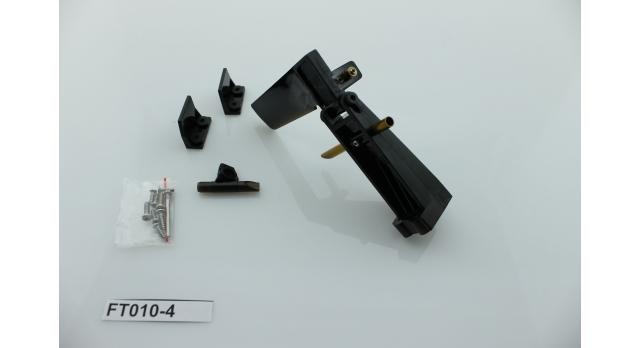 Набор запасных частей для катера Feilun FT010 (хвостовой руль, кронштейн, транцевые плиты, крепеж) 3