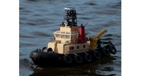 Р/У катер буксир Heng Long Seaport Work Boat 1/20 RTR 4