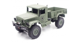 Р/У машина Heng Long военный грузовик (зеленый) 1/16+акб 2.4G RTR 1