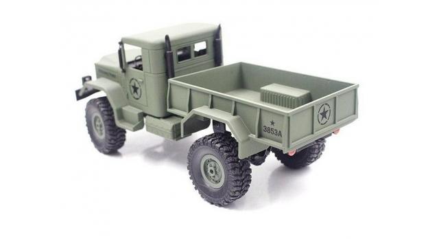 Р/У машина Heng Long военный грузовик (зеленый) 1/16+акб 2.4G RTR 2