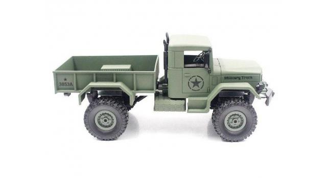 Р/У машина Heng Long военный грузовик (зеленый) 1/16+акб 2.4G RTR 3