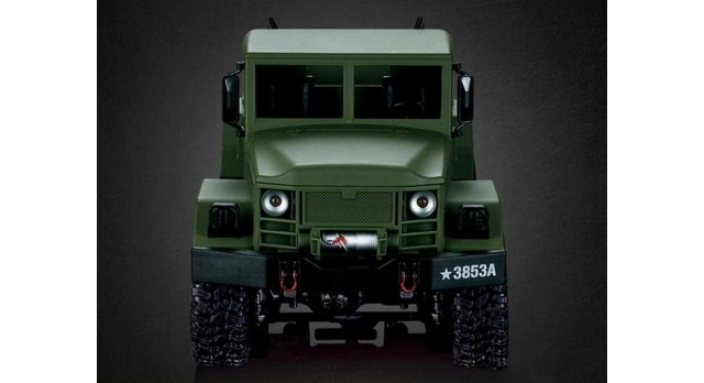 Р/У машина Heng Long военный грузовик (зеленый) 1/16+акб 2.4G RTR 4