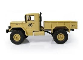 Р/У машина WPL военный грузовик (песочный) 1/16+акб 2.4G RTR 1