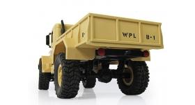 Р/У машина WPL военный грузовик (песочный) 1/16+акб 2.4G RTR 3