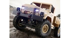 Р/У машина WPL военный грузовик (песочный) 1/16+акб 2.4G RTR 4