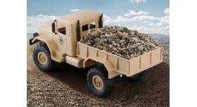 Р/У машина WPL военный грузовик (песочный) 1/16+акб 2.4G RTR 6