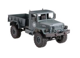 Р/У машина WPL военный грузовик (серый) 1/16+акб 2.4G RTR
