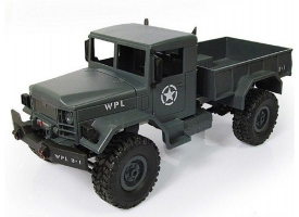 Р/У машина WPL военный грузовик (серый) 1/16+акб 2.4G RTR 1