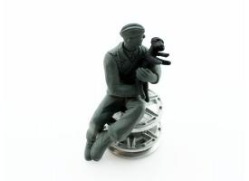 Фигурка. Немецкий солдат с собакой 1